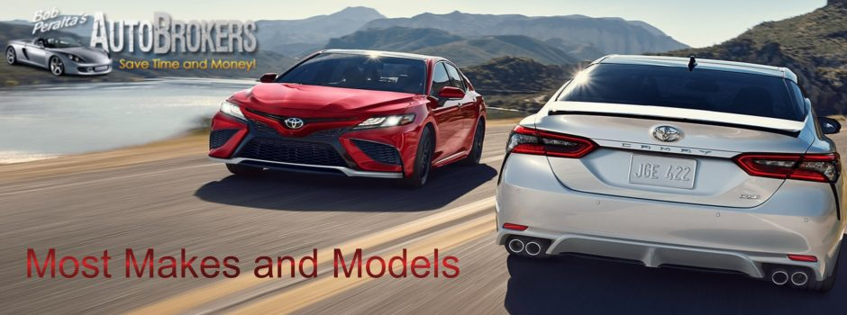 2021 Camry Most Makes and Models